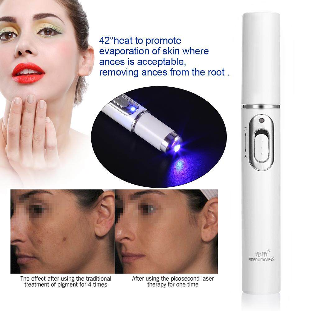 Blue-Ray 415nm Acne Remover Pen BIO Anti-inflammation Lymph Detoxification Scar Remover