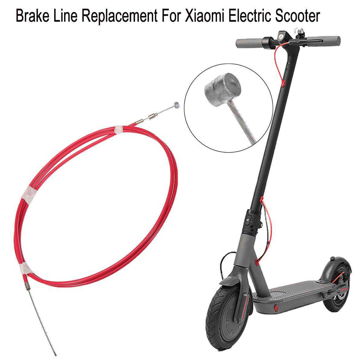 Front Rear General Purpose Brake Line Replacement For Xiaomi Scooter