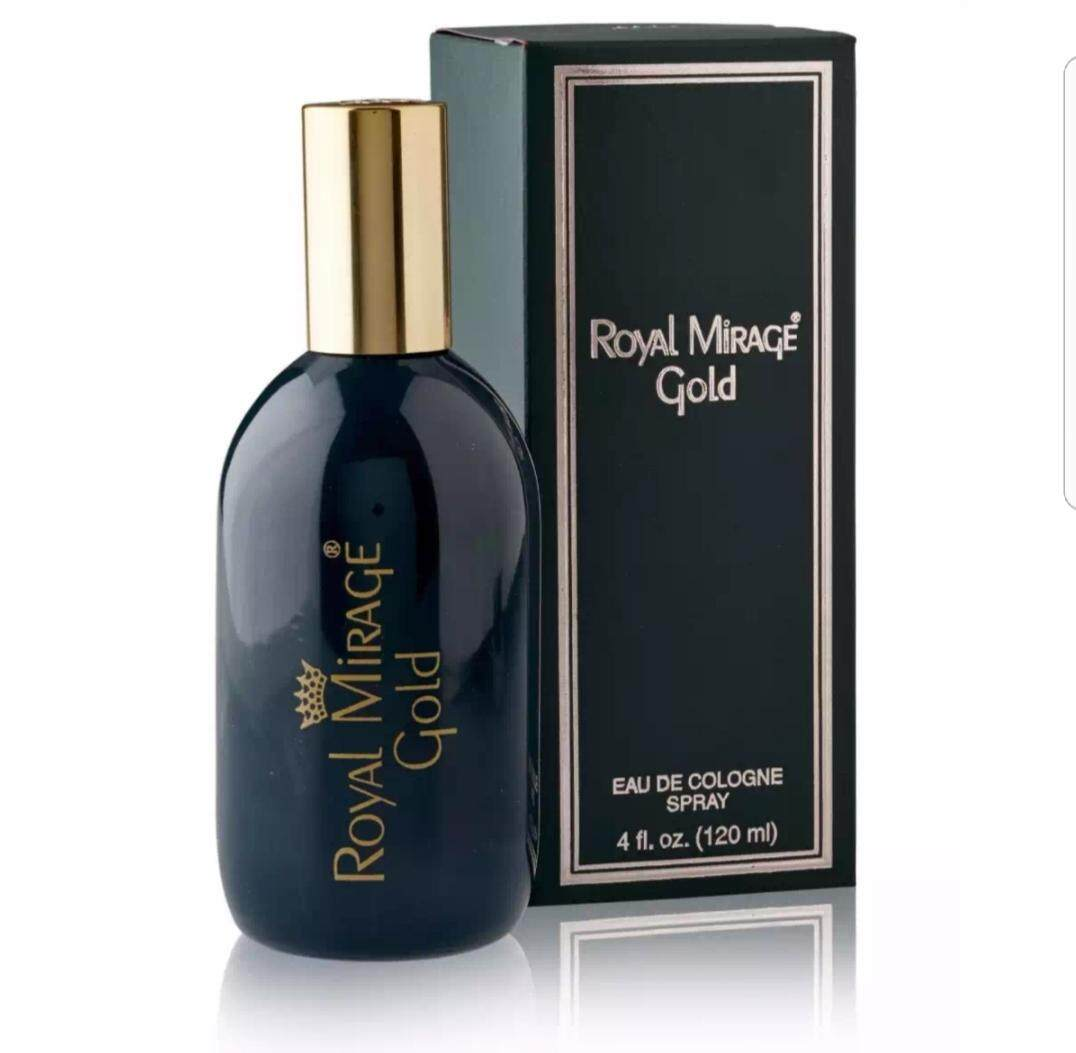 "Royal Mirage : Classic – ""GOLD"" Eau de Cologne Spray 120 ml"