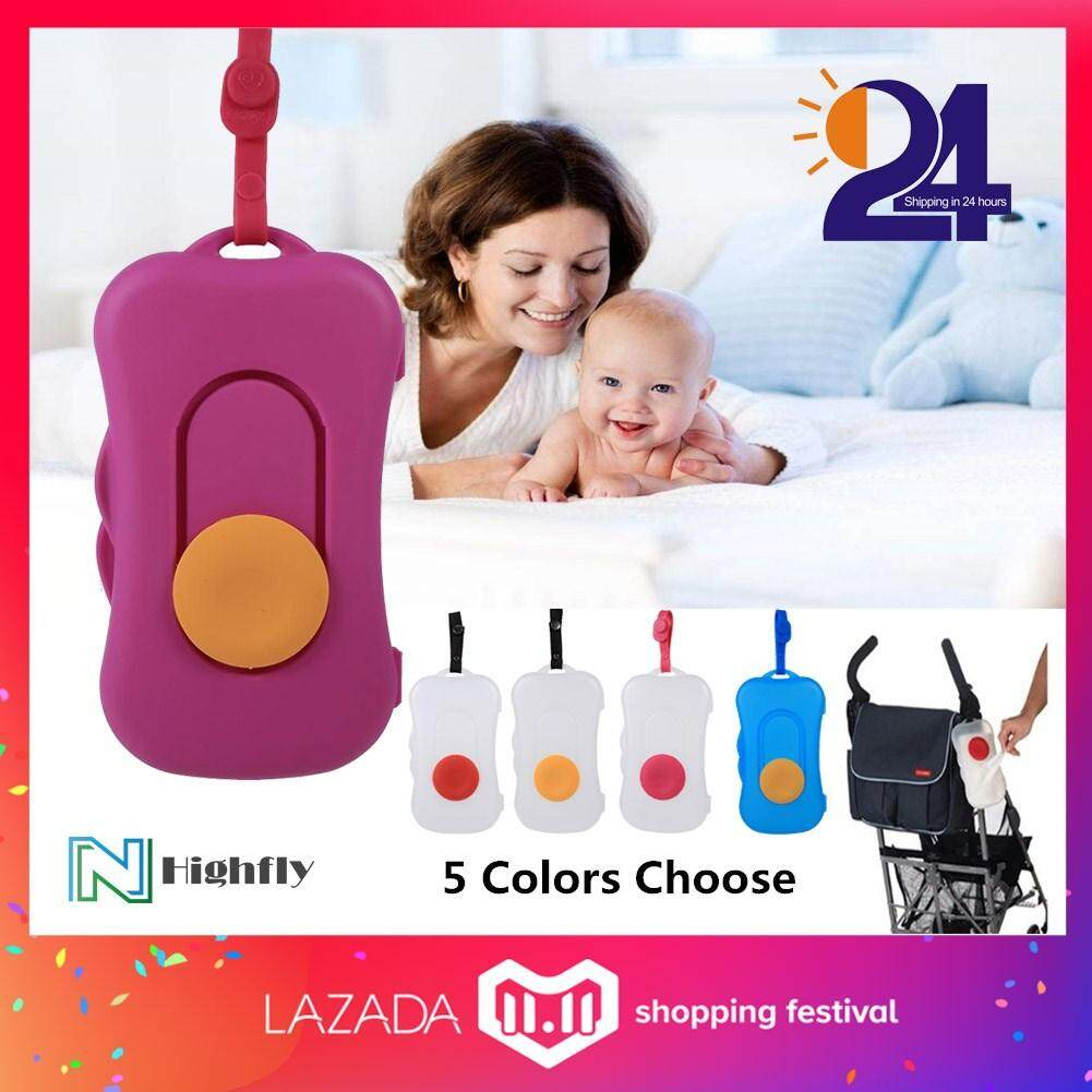Useful Portable Baby Wipe Travel Carry Case Child Wet Wipes Box Dispenser US