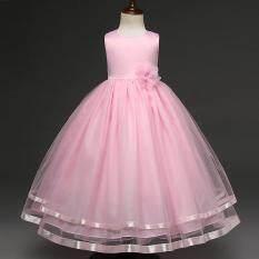 Bé Gái Trẻ Em Váy Đầm Hoa Công Chúa Hoa Tutu Áo cho Tiệc Cưới Các Sự Kiện Mặc-quốc tế