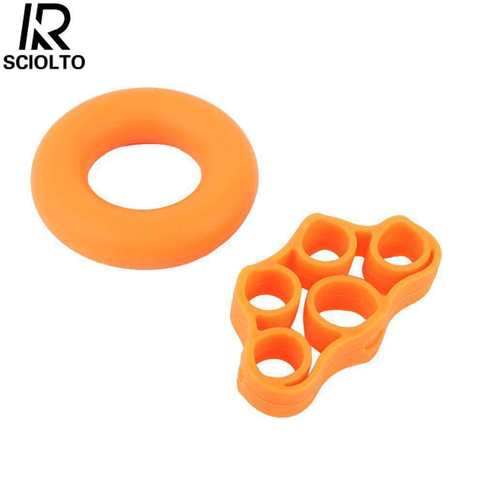 (Free Shipping for WM - Klang Valley,WM - Non Klang Valley,EM - Sabah)SCIOLTO SPORTS Silicone Rings Hand Extensor Strength Relieve Stress