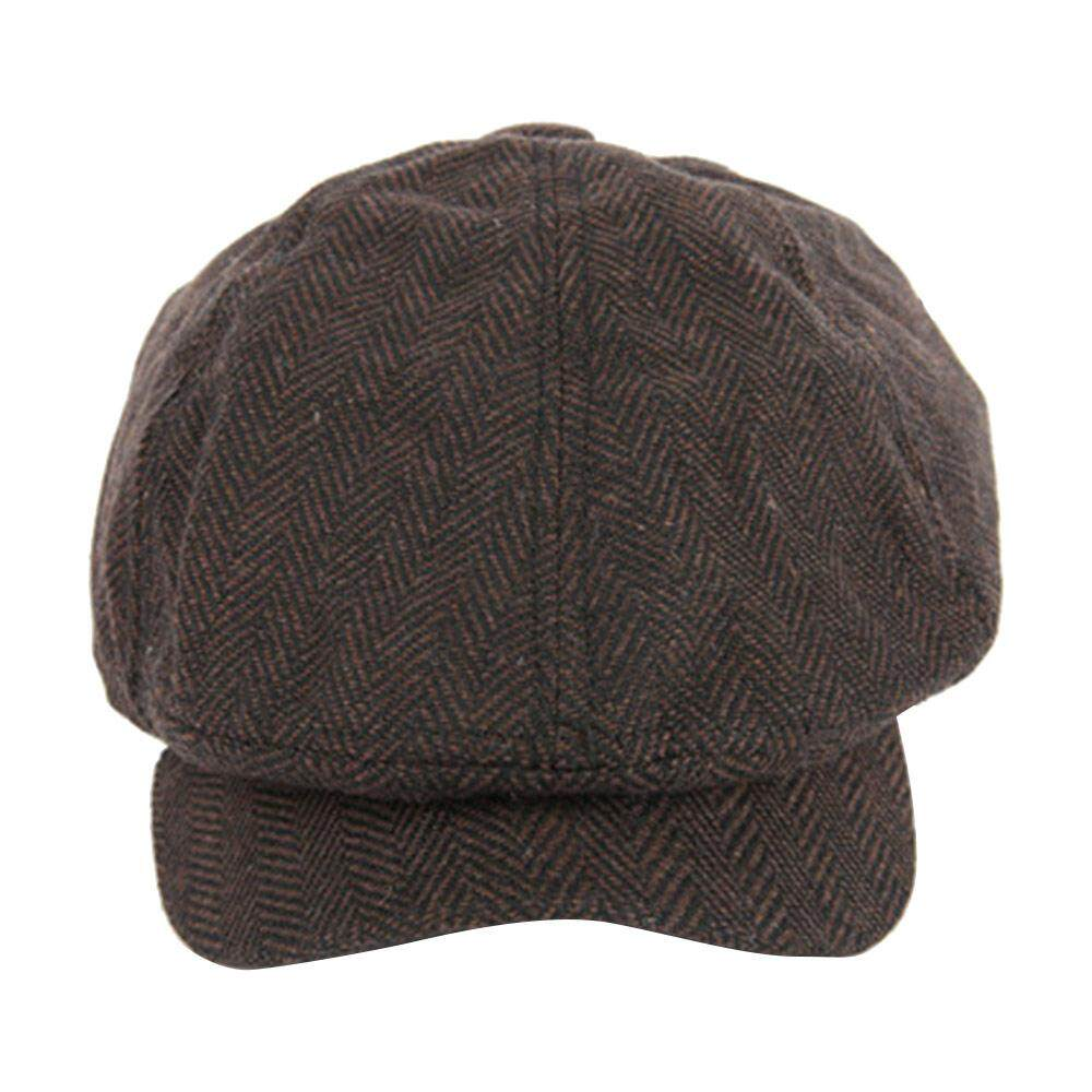 1efe8852f9d8 Product details of Women Baker Boy Hat Peaky Blinders Newsboy Gatsby  Country Herringbone Flat Cap - intl