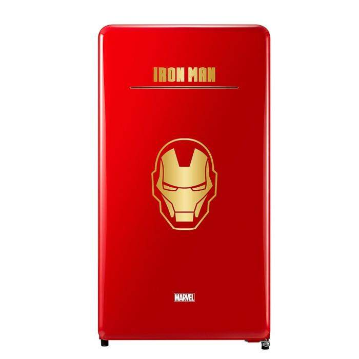 DAEWOO FN-M125IM FRIDGE 1 DOOR 125L MARVEL SERIES IRON MAN