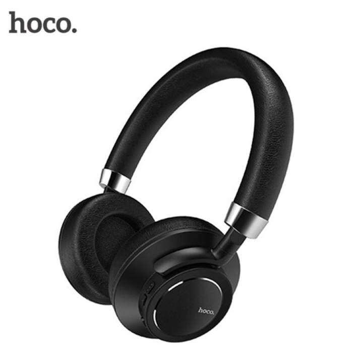 SmartBest HOCO W10 หูฟังไร้สายชุดหูฟังสเตอริโอหูฟังบลูทูธสวมหูหูฟังสำหรับ iPhone เสี่ยวหมี่โซนี่ Samsung โทรศัพท์ PC