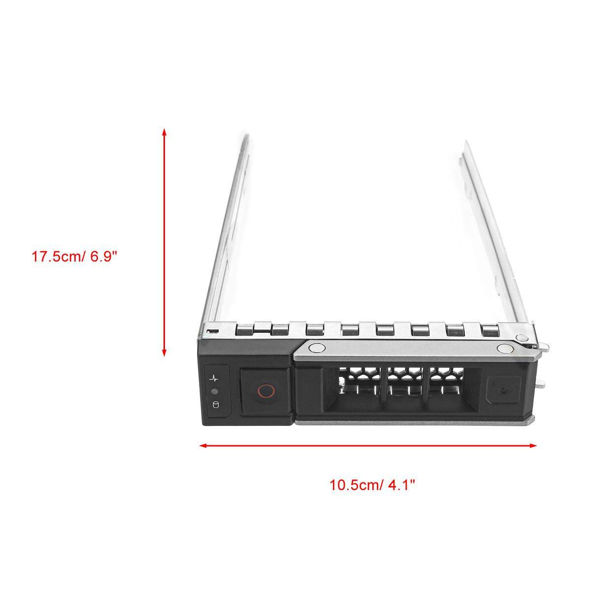3.5'' X7K8W HDD Tray Caddy For DELL R440 R640 R740 T640 3.5'' HDD Tray Caddy