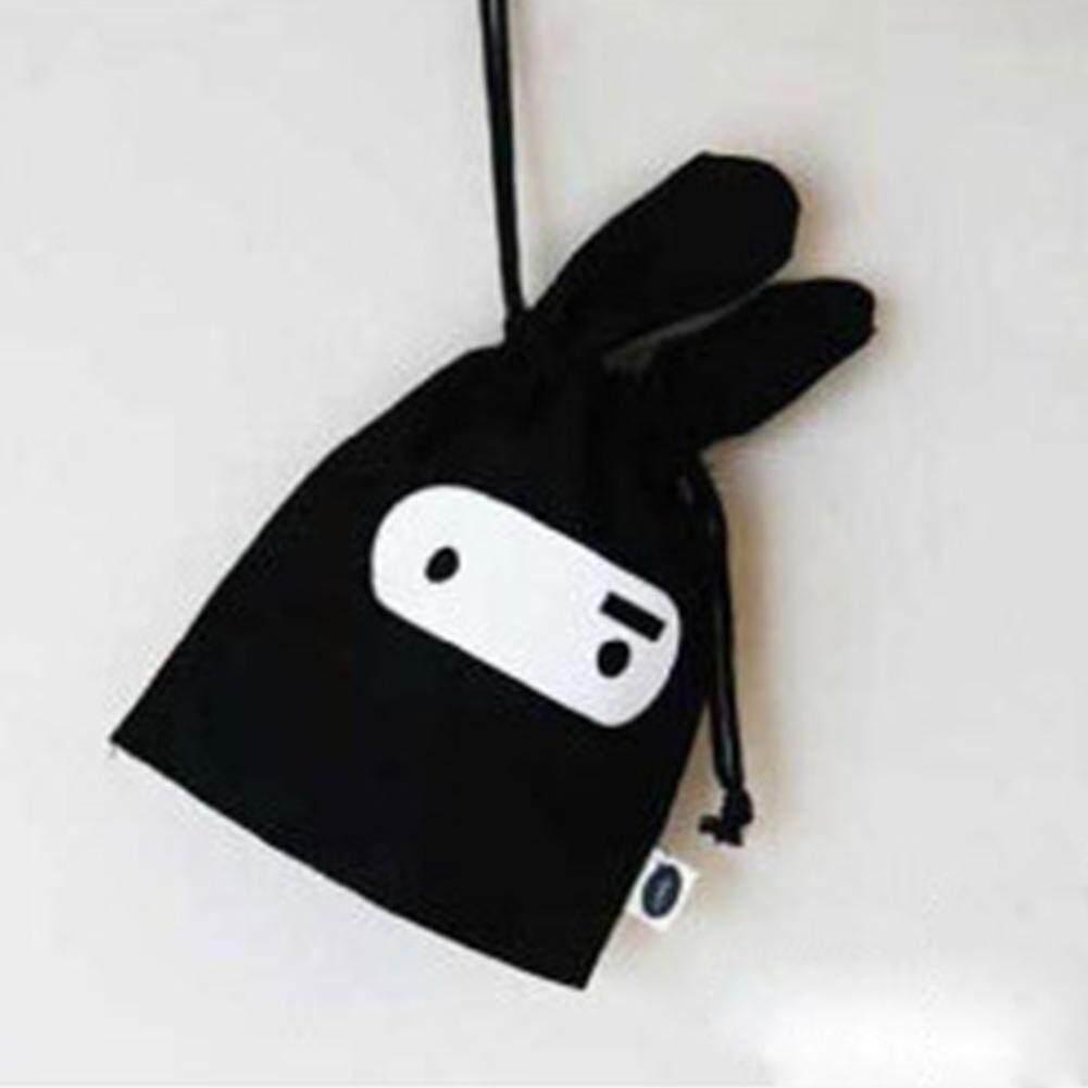 Thỏ thu nhỏ túi dễ thương túi lưu trữ, túi đựng mỹ phẩm, di động