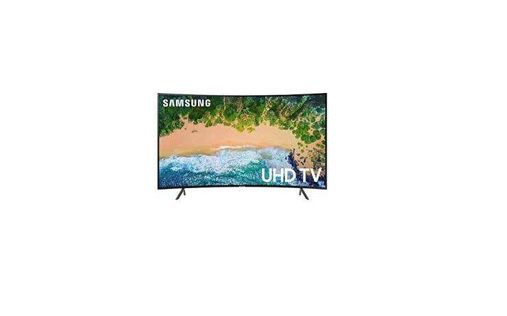 SAMSUNG CURVED 65inchi 4K UHD LED TV (2018) UA-65NU7300KXXM