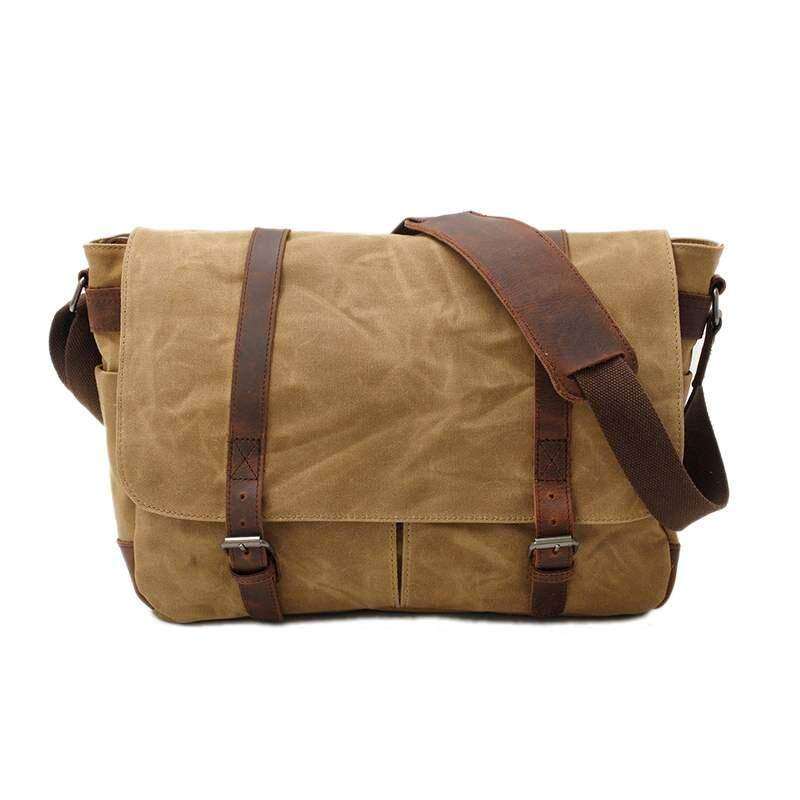 Chux Fashion Caden Vintage Canvas Camera Single Shoulder Bag DSLR SLR Durable Portable Sling Bag