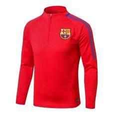 Chất Lượng hàng đầu Barcelona Dài Tay Home Jersey Áo Thun Huấn Luyện Khi Mặc
