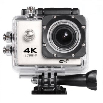 Action camera F60 Ultra HD 4K WiFi Underwater 30M Sports Camera2.0LCD 1080p 60fps Camera Car Recorder elmet Cam DivingSportsDV(White)