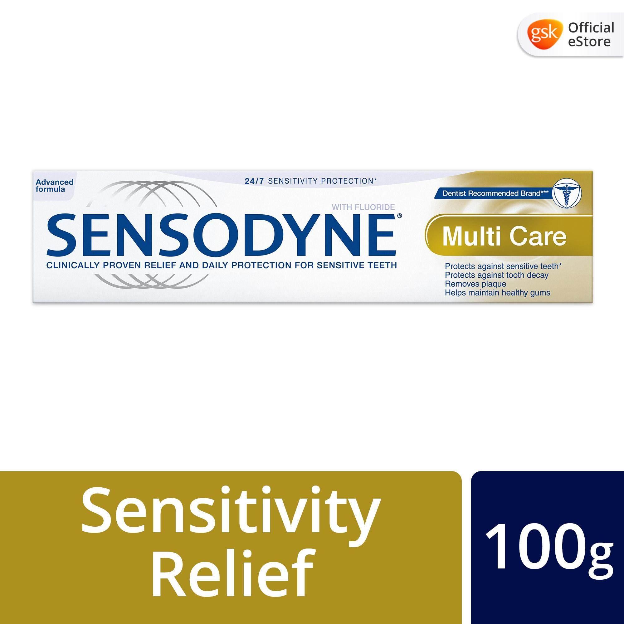 Sensodyne Sensitive Daily Care Multi Care Toothpaste, (1 x 100 g)