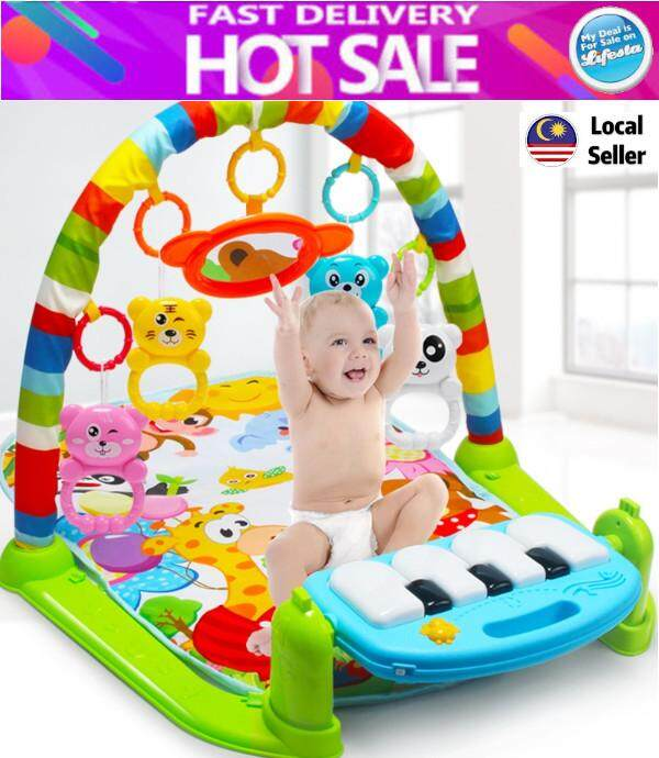 Lifesta Baby Toddler Playgym Playmat Play Gym With Music & Lights - Keyboard Version
