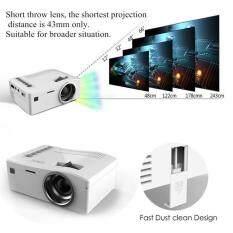 Sway Short-Focus Lens LED Mini UNIC Multimedia HD Projector USB AV TF HDMI IR White US Plug – intl