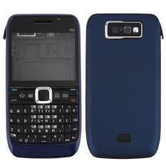 iPartsBuy for Nokia E63 Full Housing Cover (Front Cover + Middle Frame Bezel + Back Cover + Keyboard)(Dark Blue) – intl