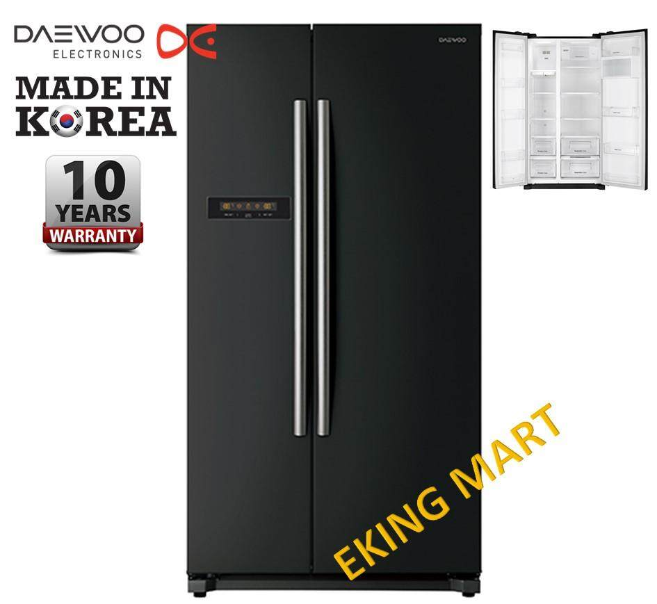 [Made In KOREA] Daewoo Korea 608Liter Energy Save Side by Side 2 Door Refrigerator/ Fridge FPN-X622BB