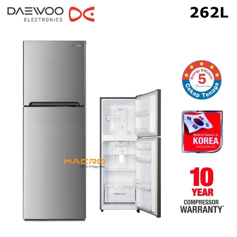 Daewoo FGT330ENG 262L Refrigerator 2-Door Fridge (No Frost)
