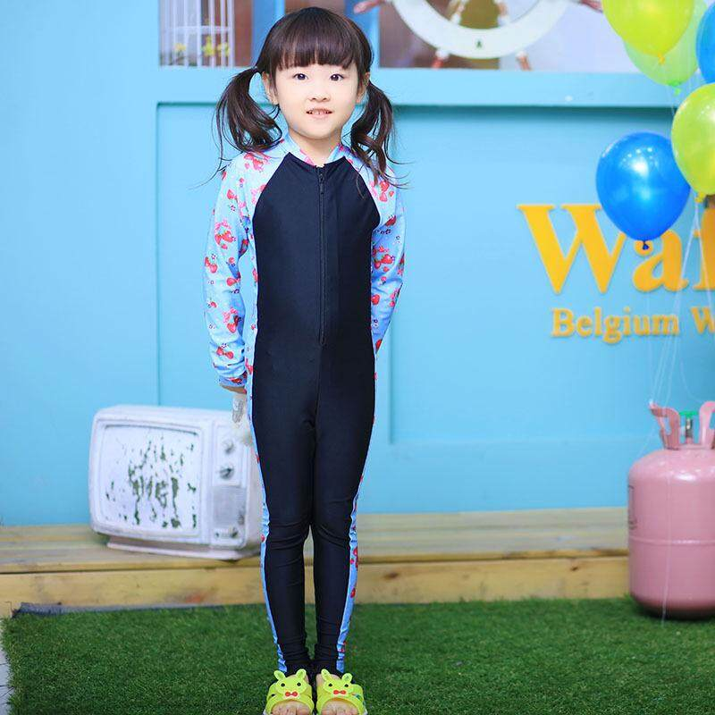 306bbd73c2 Product details of 2018 New 1-10 year old Girls Rash Guards One Piece Swimsuit  Kids Surfing Wear of Long Sleeve Children Swimwear Baby Girl Swimming Suit  - ...