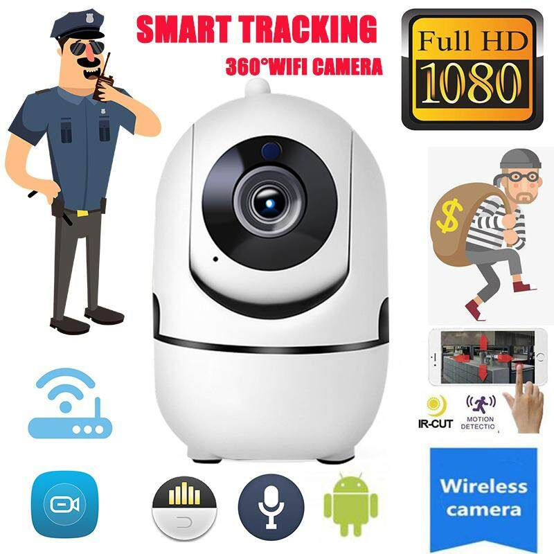 HD Wifi Camera Wireless WiFi Camera Wifi IP Camera Multifunctional 1080P HD Night Vision Tracking Automatically Baby Monitor