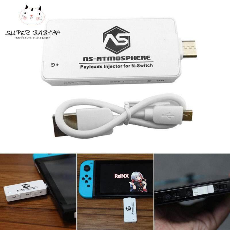 SBY Di Động Khí Quyển Tải Trọng RCM JIG Kiêm Bật Lửa Pin Dongle cho Máy Nintendo Switch