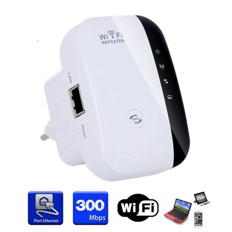 ELEC 2.4G Wireless Wifi Bridge Dongle 300M Repeater Range Extender Signal Booster