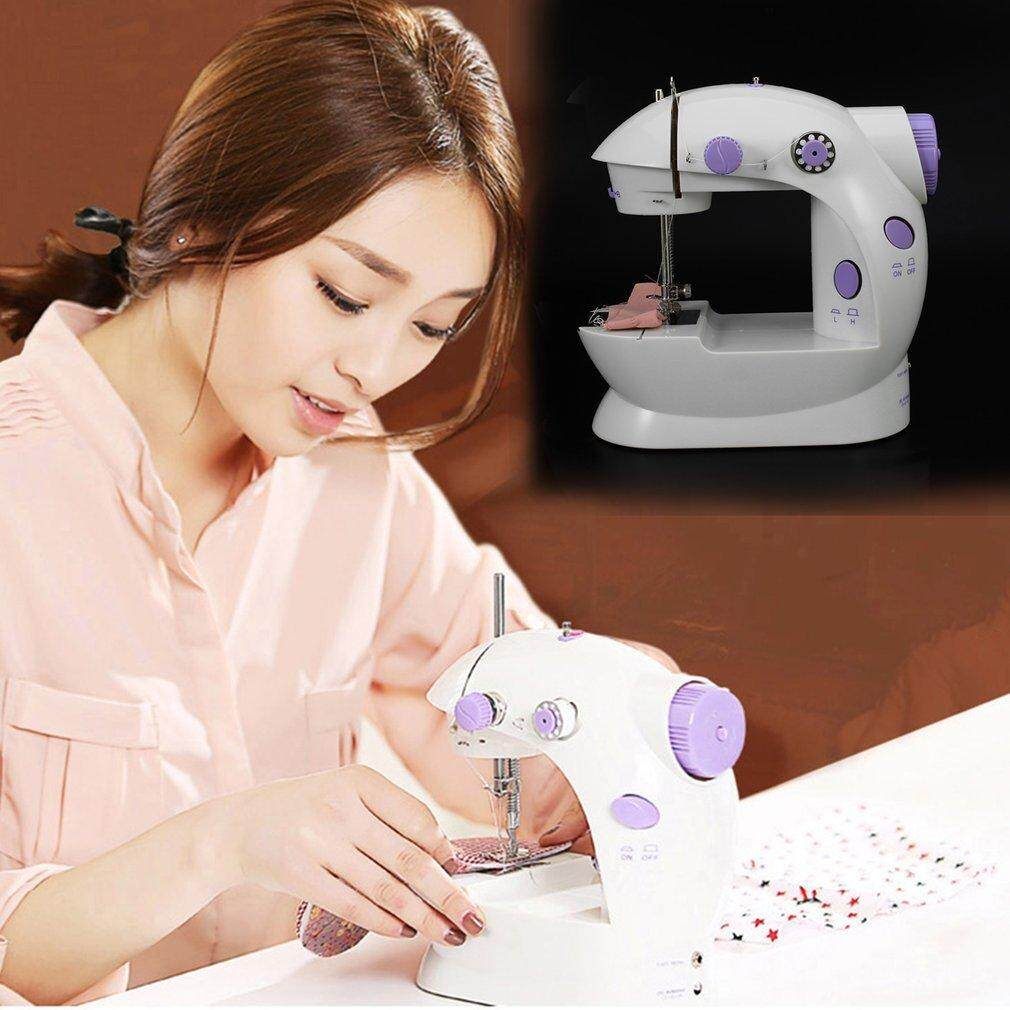 KAKA Tailor Small Household Electric Machine Mini Sewing Multifunction white Portable