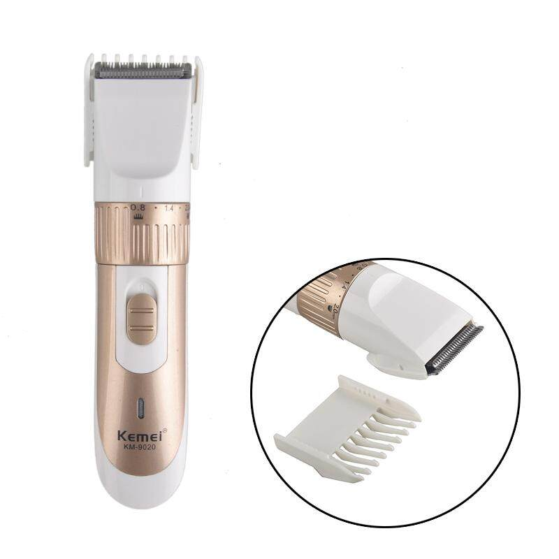 Professional Electric Hair Clipper Trimmer Titanium Blade Hair Clipper Cutting Machine Shearer With Limit Combs