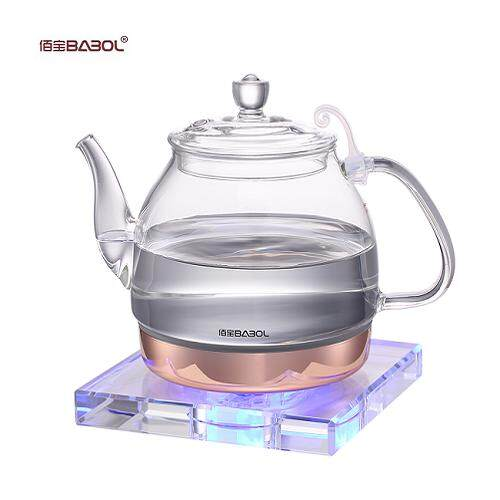 Glass electric kettle automatically breaks boiled tea maker Safety Auto-Off Function