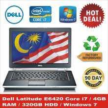 Dell Latitude E6420 Core i7 250GB