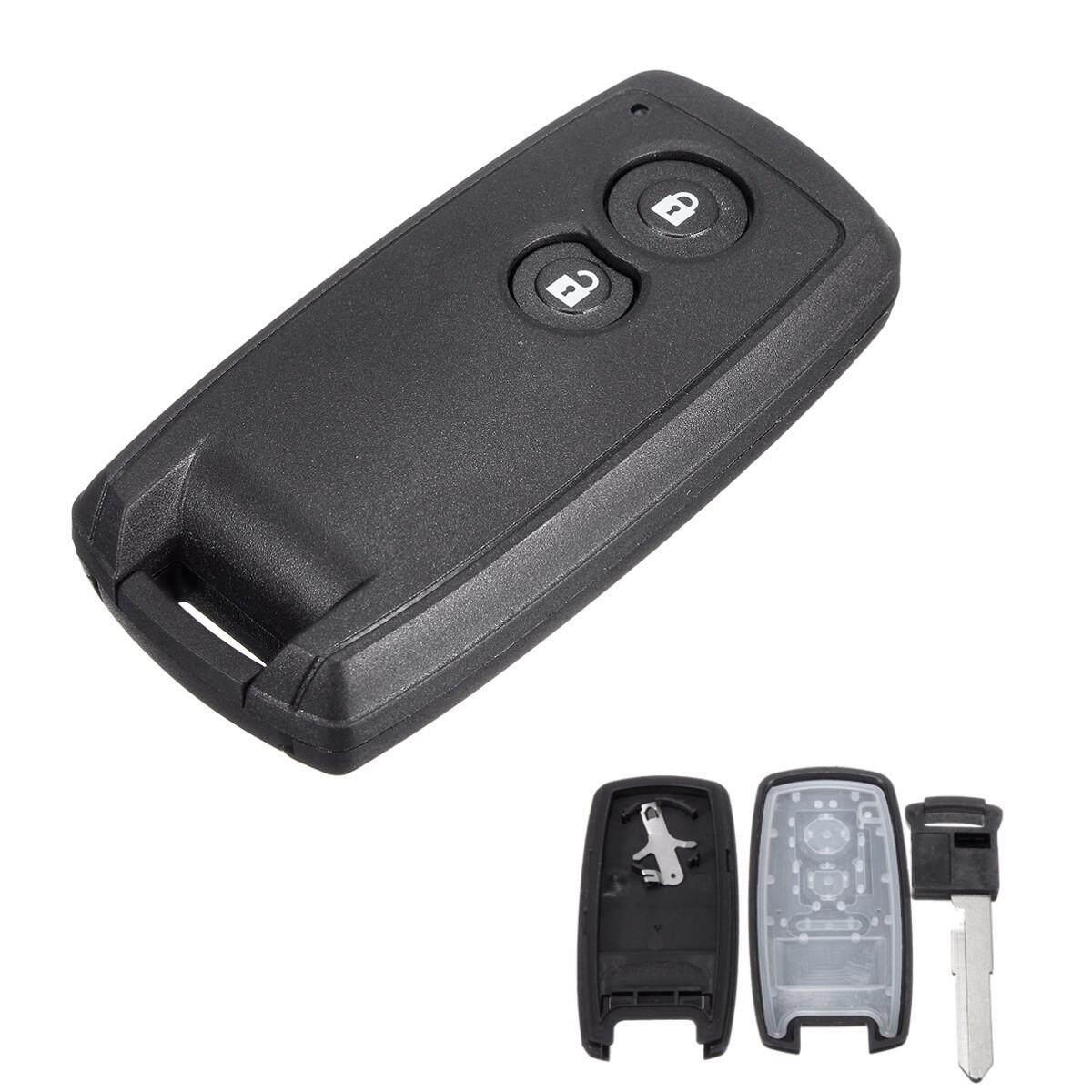 2 Button Remote Key Case Shell + Uncut Blade For SX4 Grand Vitara Swift