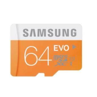 SAMSUNG Evo Micro SD 64GB Class 10 Memory Card