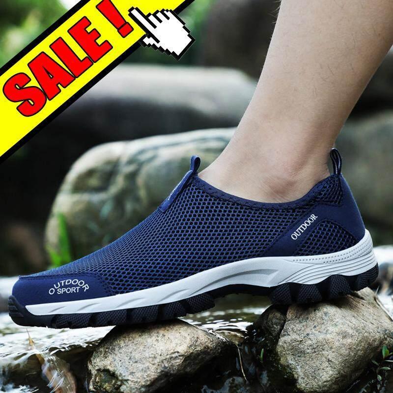 Yealon Fashion Sepatu Mendaki untuk Pria Sneakers Sepatu Musim Panas Pria  Kasual Sepatu Olahraga untuk Pria c8695177e3