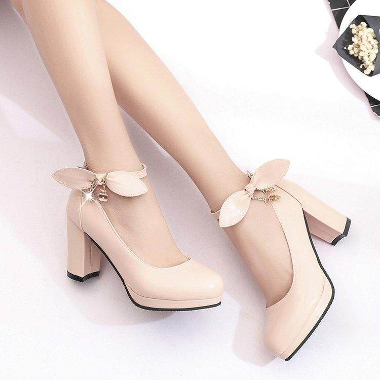 e4c67e8f75b Specifications of 2018 New Fashion Woman Pumps Cross-tied Ankle Strap  Wedding Party Shoes Platform Dress Women Shoes High Heels Suede Ladies Shoes