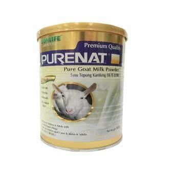 Bonlife Greenfood Purenat Premium Goat Milk Powder, 400g