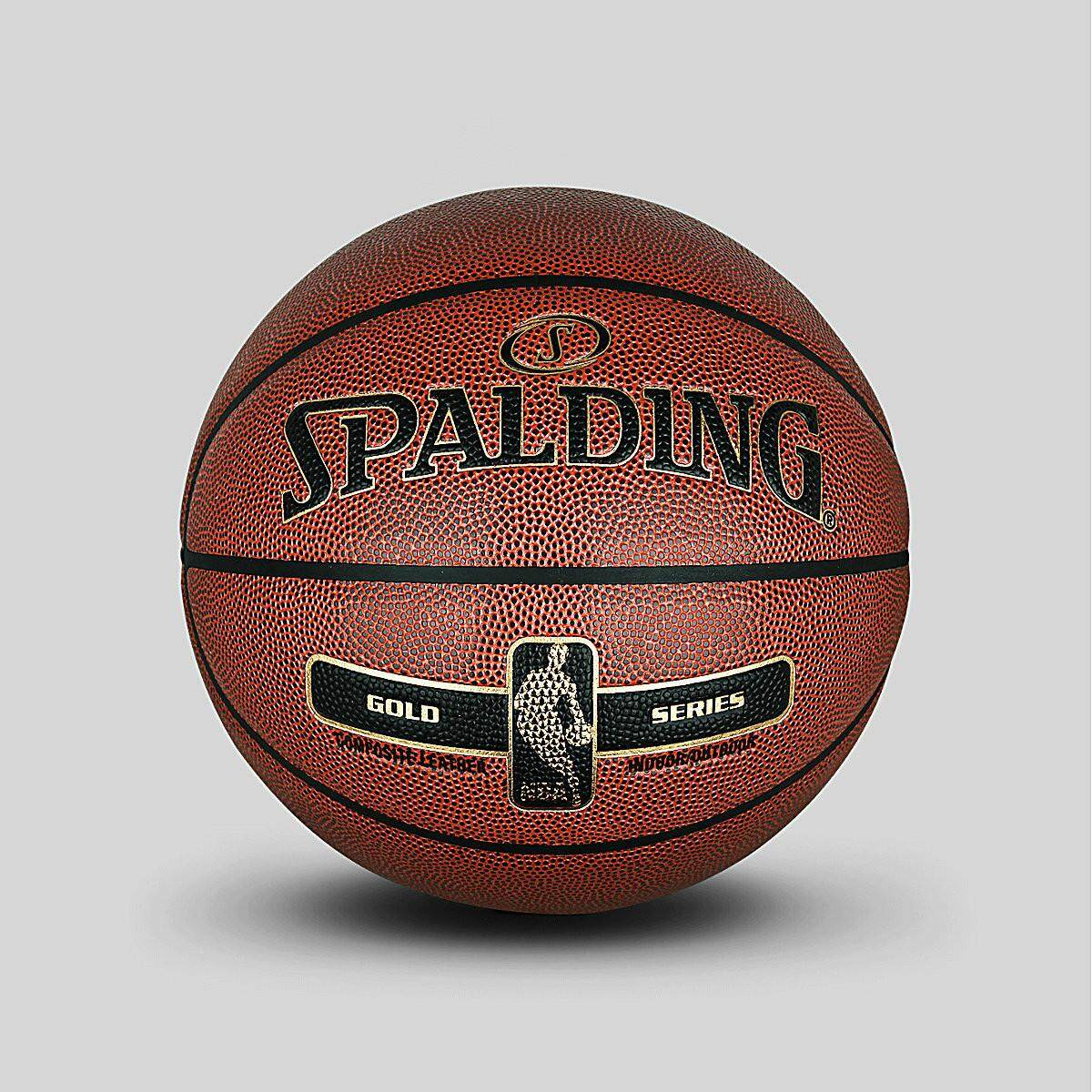 Basketballs For Sale Indoor Outdoor Online Brands Bola Basket Linning Spalding Official Flagship 2017nba Gold Classic Full Grain Surface Pu Basketball 76 014y Red