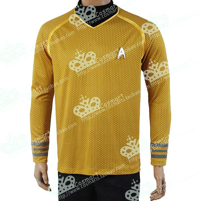 [COS ermart Words】 Star Trek Dark Unbounded Star Trek Kirk Captain COS Clothing Tops Male