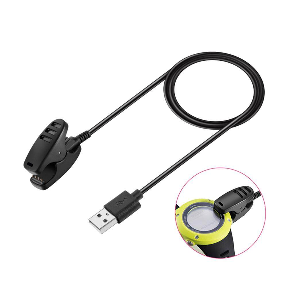 Vanker-Black Replacement Charging Cradle DockClip Charger Cable For SUNNTO Smartwatch Malaysia