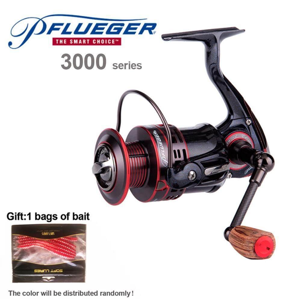 Pflueger PRESLESP 20 25 30 Spinning Fishing Reel Salt Fresh Water 170g 7BB 10BB 5.2:1 with graphite material Fishing Gear  ()