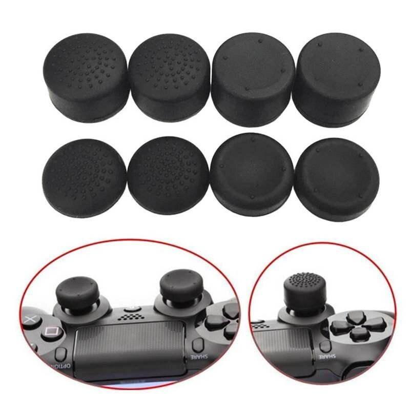 Chux 8 x Silicone Thumb Stick Caps Gel Guards Increase the small bumps for Nintendo Switch Joy-Con Controller Joystick Grips Game Accessories