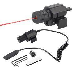 Metal Housing Tactical Rifle Scope red Mini Reflex Red Dot Sight With Tail