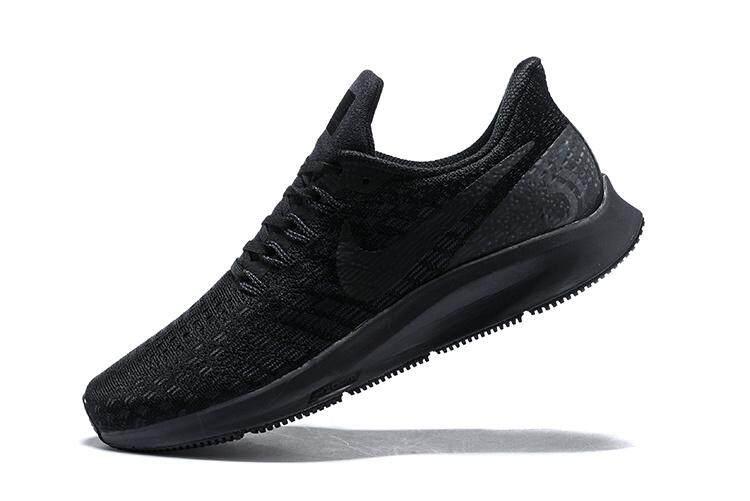 c5b2774783f NIKE AIR ZOOM PEGASUS 35 Men s Running Shoe Fashion Breathable Sneakers ( Black)