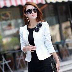 New Arrival Double Breasted Floral Blazer Women Suits Elegant Suit Jacket Casual Blazer Plus Size M-3XL Cape Blazer (Pink,black,rose,white)