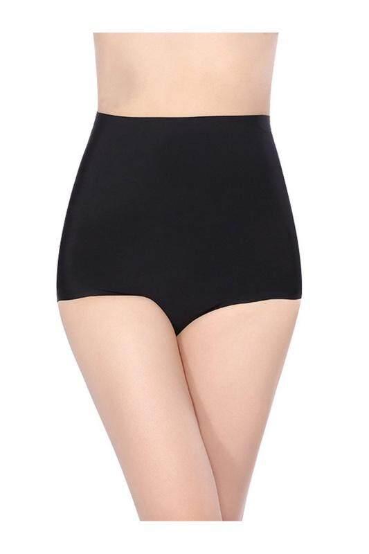Womens Seamless Panties High Waist Briefs Underwear Black M c514e3d7ef