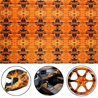 Fire Skull Hydrographic Water Transfer Hydro Dipping Film Decor DIP Print 150CM
