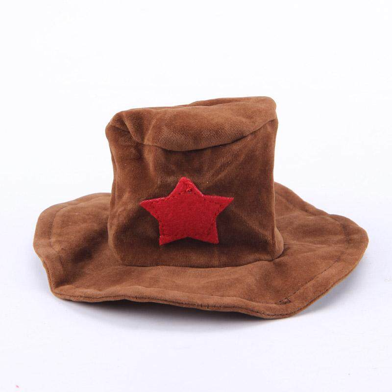 Pet Clothes Cat Dog Cosplay Cowboy Funny Costume With Hat Puppy Jean Coat Party