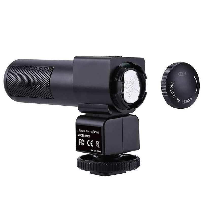 Doxiy Wawancara Fotografi Mikrofon Kamera untuk Vlogging Video MIC Mikrofon-Intl