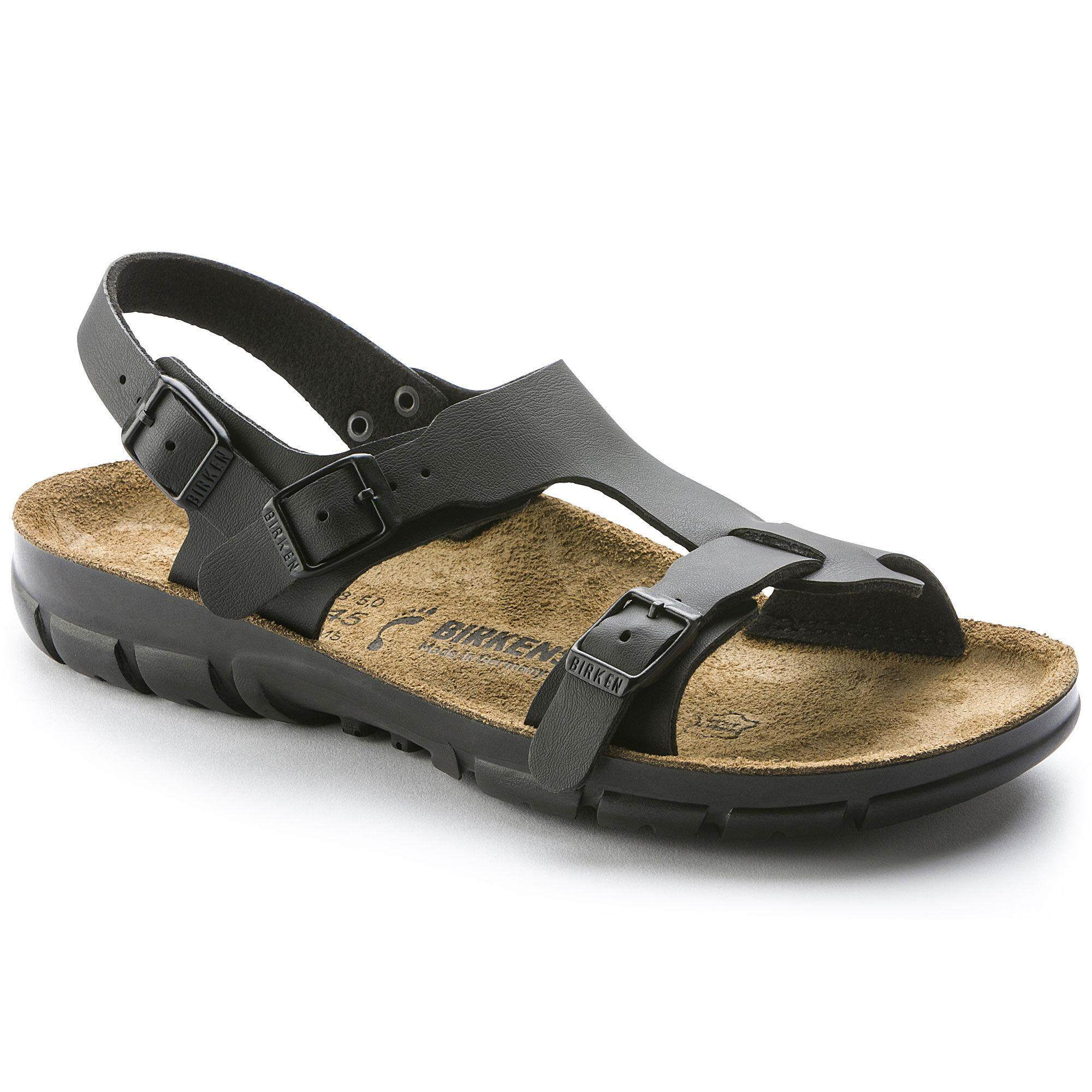 239d21df8f10 2019 Birkenstocks Women Products Saragossa Birko-Flor Black Hot