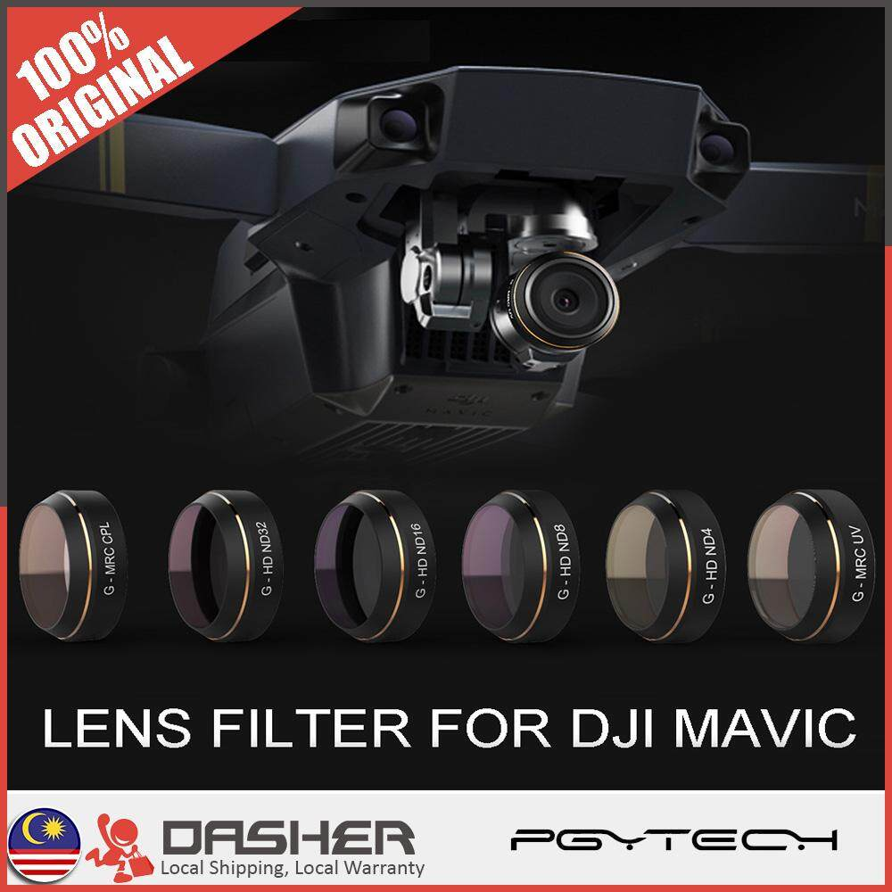 PGYTECH DJI Mavic Pro 5 in 1 UV ND CPL Filter Lens - For Better Photo Quality Contrast
