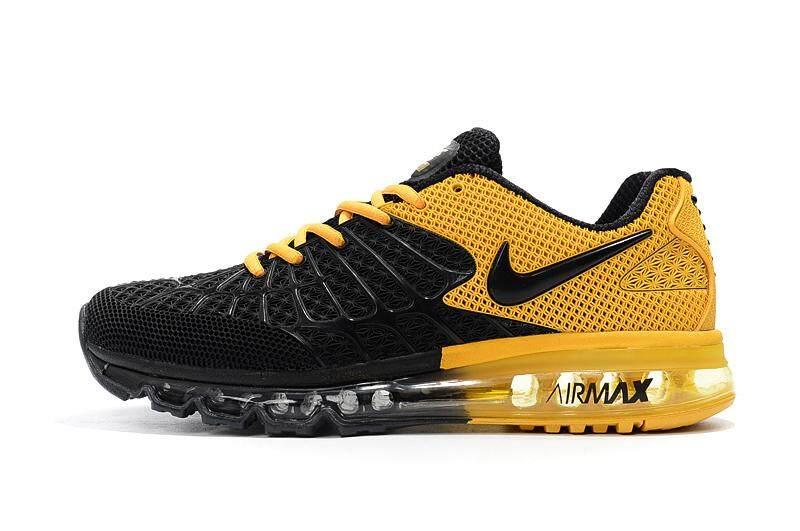 the best attitude 4d23e e99d9 Nike Air Max Men s Fashion Light Sport Sneakers Comfortable Air Cushion Running  Shoe (Black