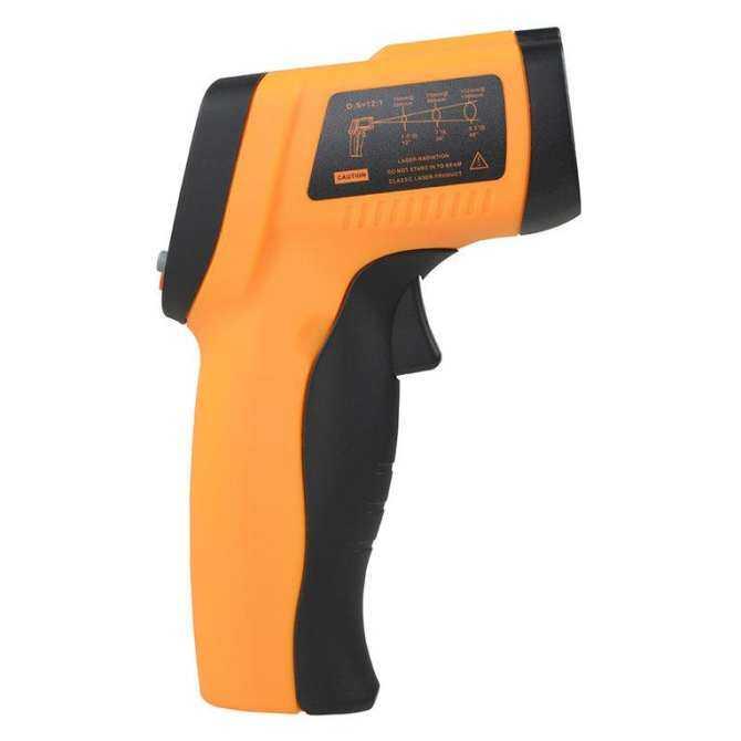 Osman Non-kontak IR Infrared Termometer Digital Laser Digital Termometer Inframerah-Intl